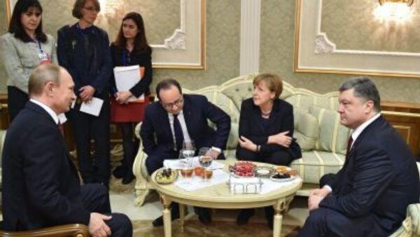 Minská jednání - Sputnik Česká republika