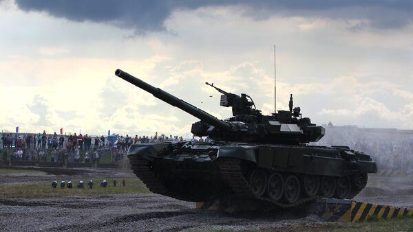 Tank T 90 - Sputnik Česká republika