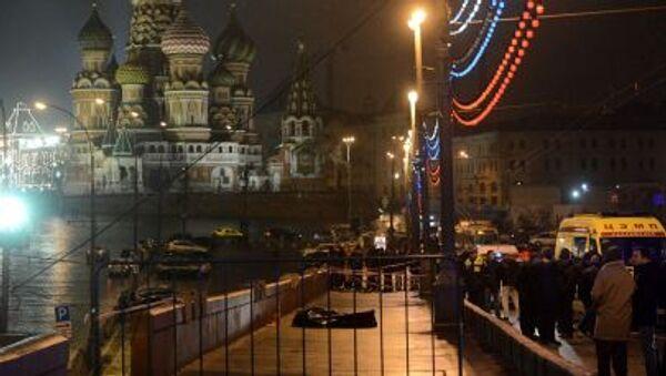 Místo vraždy Borise Němcova - Sputnik Česká republika
