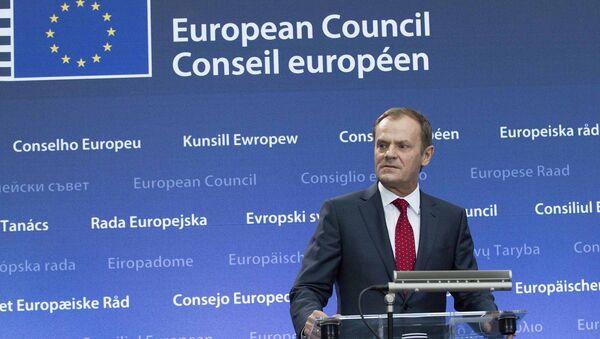 Předseda Rady Evropy Donald Tusk - Sputnik Česká republika