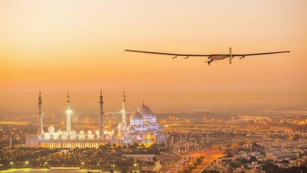 Letadlo na sluneční baterie Solar Impulse 2 - Sputnik Česká republika