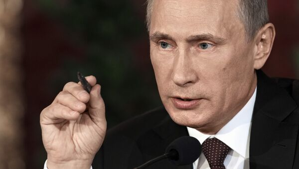 Vladimir Putin, Rakousko - Sputnik Česká republika