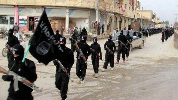 Teroristé z Islámského státu - Sputnik Česká republika