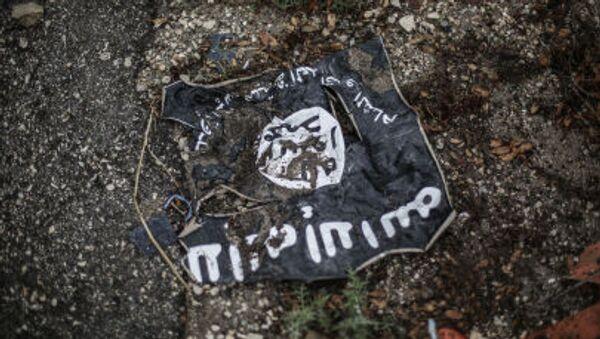 Vlajka ISIL - Sputnik Česká republika