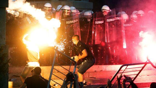Nepokoje v Srbsku - Sputnik Česká republika