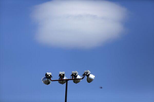 Mrak, který vypadá jako létající talíř, Filadelfie - Sputnik Česká republika