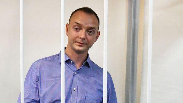 Ivan Safronov u soudu - Sputnik Česká republika