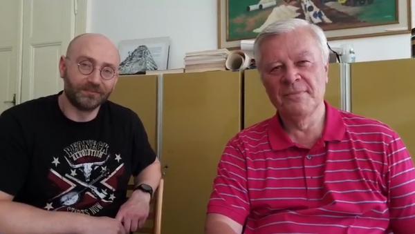 Rozhovor s Petrem Hamplem a  Josefem Skálou - Sputnik Česká republika