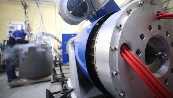 Elektrický motor na základě technologií supravodivosti - Sputnik Česká republika
