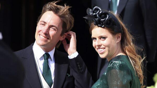 Princezna Beatrice a Edoardo Mapelli Mozzi - Sputnik Česká republika