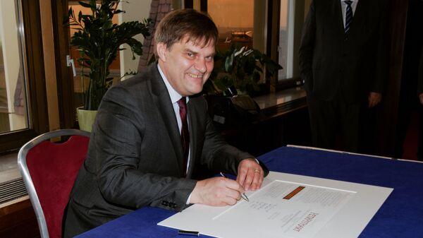 Bývalý velvyslanec v Německu Rudolf Jindrák. Zmocněnec pro konzultace s Ruskem - Sputnik Česká republika