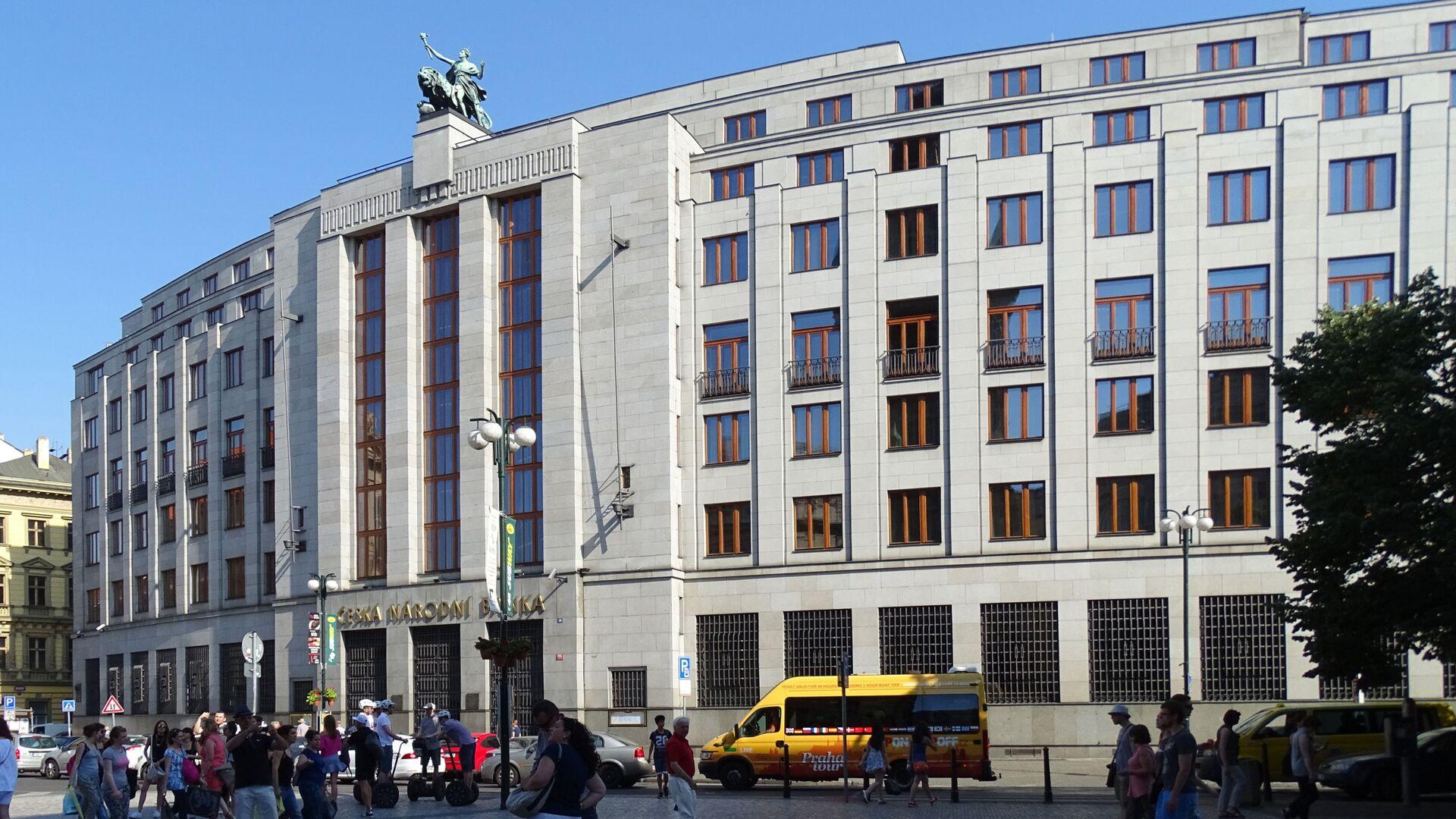 Česká národní banka v Praze - Sputnik Česká republika, 1920, 30.09.2021