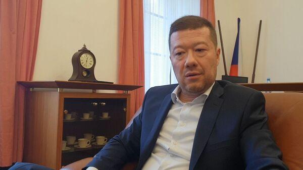 Předseda SPD Tomio Okamura - Sputnik Česká republika