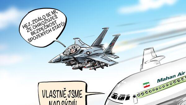 Americké letectvo určuje svá vlastní pravidla na cizím území - Sputnik Česká republika