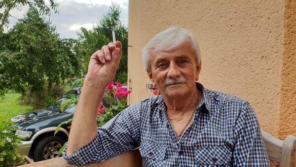 Hledač štěchovického pokladu Josef Mužík - Sputnik Česká republika