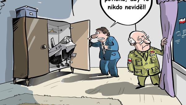 Polsko se rozhodlo, že neumístí  F-35 u hranice s Ruskem - Sputnik Česká republika