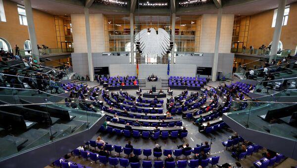 Německý spolkový sněm v Berlíně - Sputnik Česká republika