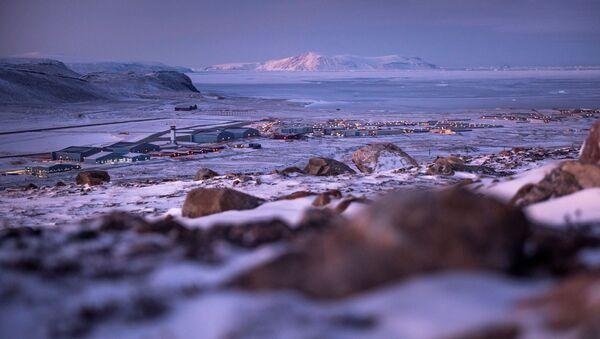 Americká letecká základna Thule v Grónsku - Sputnik Česká republika