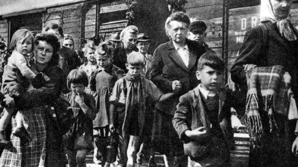 Odsun sudetských Němců - Sputnik Česká republika