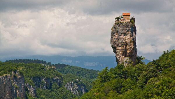 Katshijský pilíř, Gruzie - Sputnik Česká republika