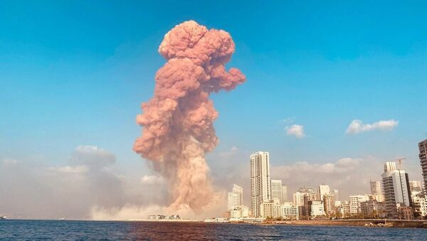 Výbuch v Bejrútu - Sputnik Česká republika
