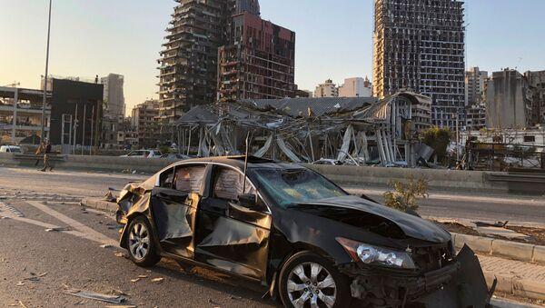 Důsledky tragédie v Bejrútu - Sputnik Česká republika
