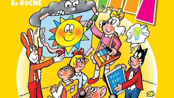 Obálka komiksu Čtyřlístek - Sputnik Česká republika