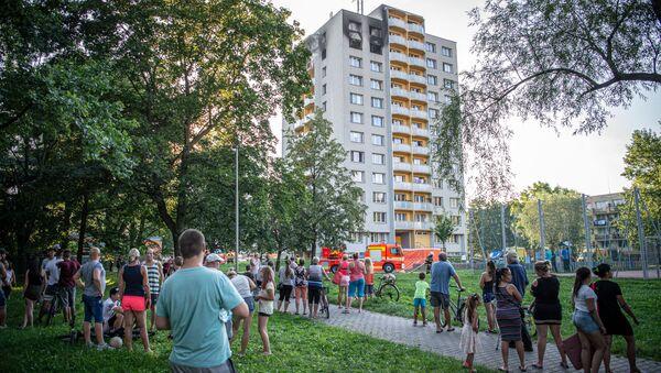 Požár v bytě v Bohumíně - Sputnik Česká republika