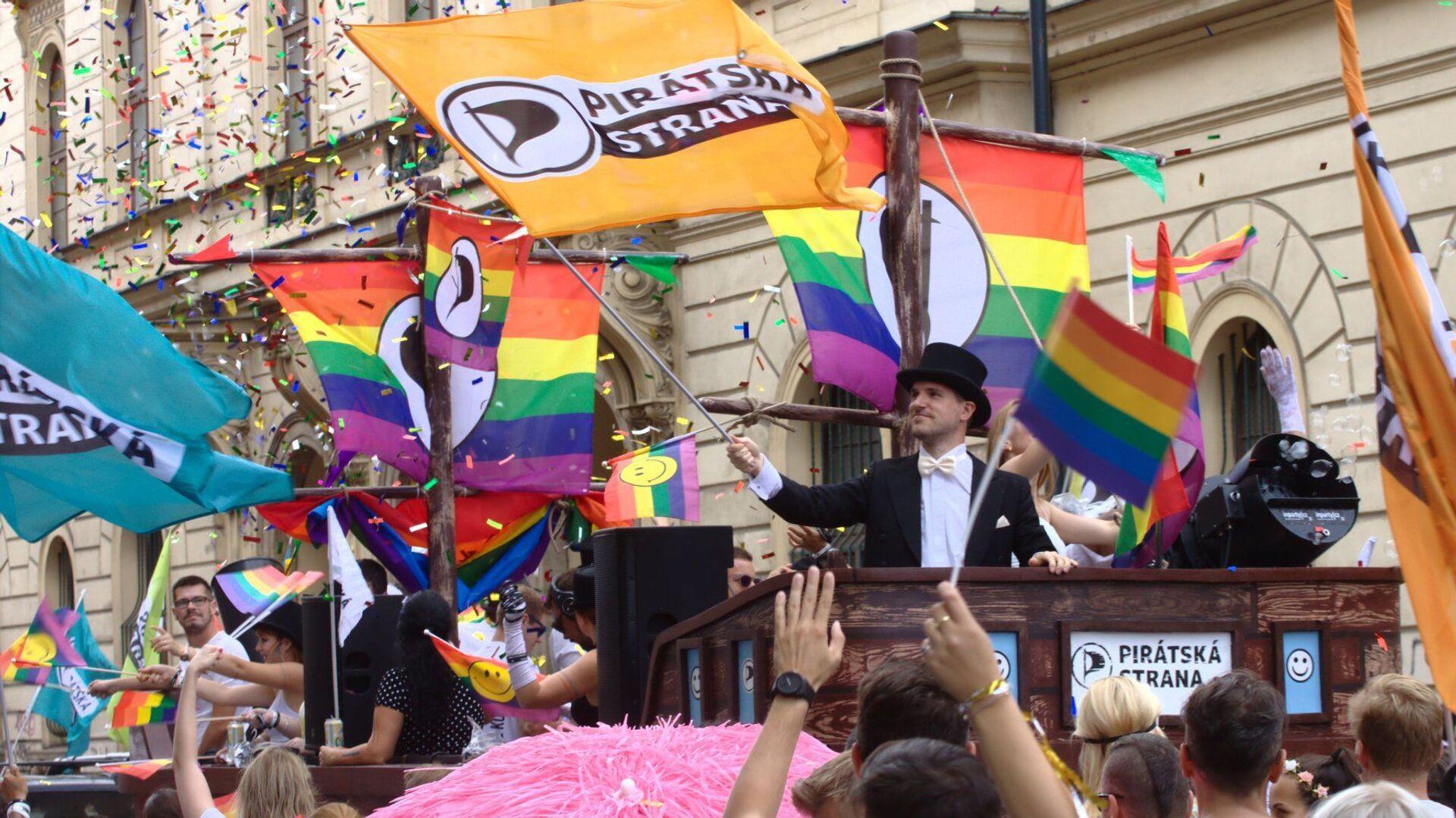 Prague Pride 2020 - Sputnik Česká republika, 1920, 04.04.2021