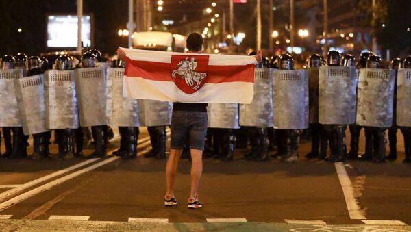 Protesty v Minsku - Sputnik Česká republika