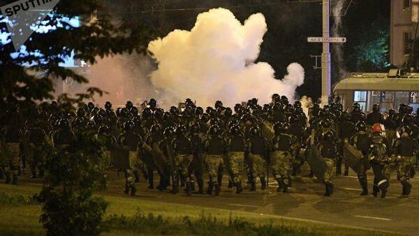 Protesty v Minsku. Druhý den - Sputnik Česká republika