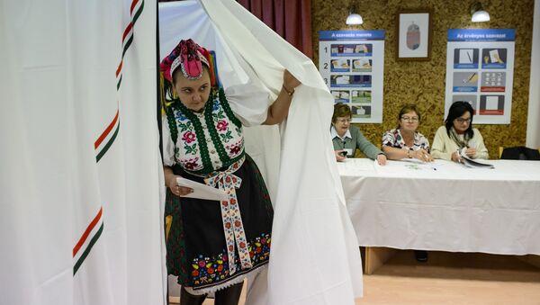 Volby v Maďarsku. Ilustrační foto - Sputnik Česká republika