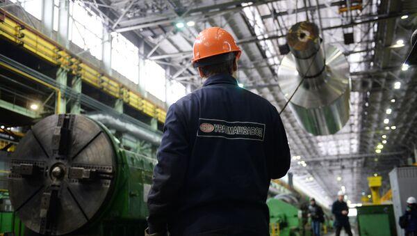 Uralský závod těžkého strojírenství Uralmaš - Sputnik Česká republika