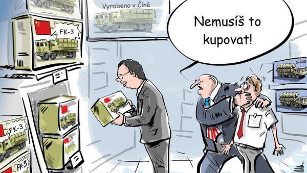 Dusící péče Washingtonu  - Sputnik Česká republika