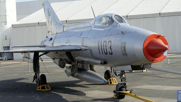 Československý letoun MiG-21F-13 Fishbed C - Sputnik Česká republika