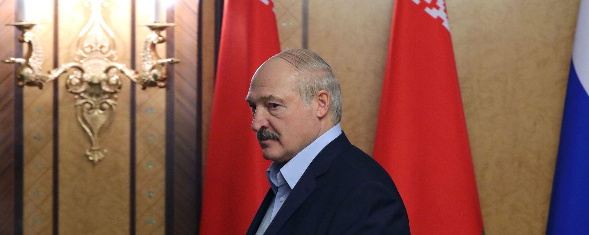 Běloruský prezident Alexandr Lukašenko - Sputnik Česká republika, 1920, 21.06.2021
