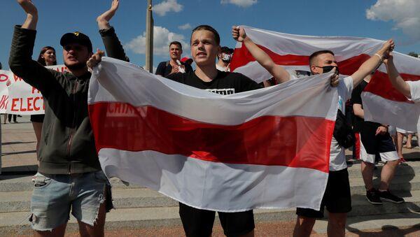 Protesty opozice v Minsku (16. 08. 2020) - Sputnik Česká republika