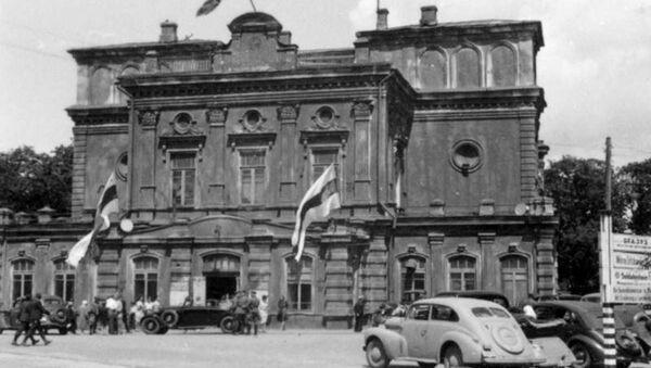 Minsk v době nacistické okupace - Sputnik Česká republika