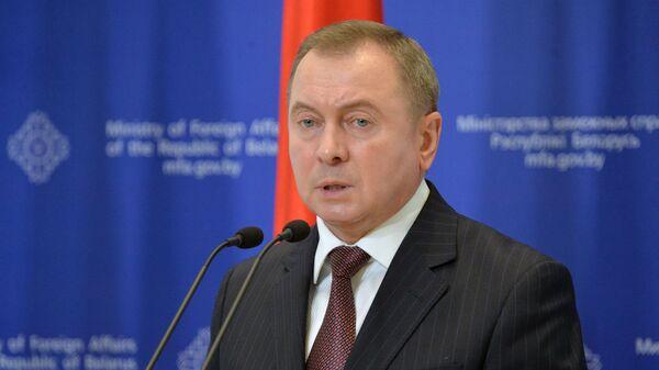 Běloruský ministr zahraničí Vladimir Makej - Sputnik Česká republika