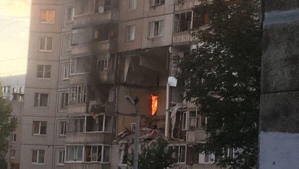 Výbuch plynu v domě v Jaroslavli - Sputnik Česká republika