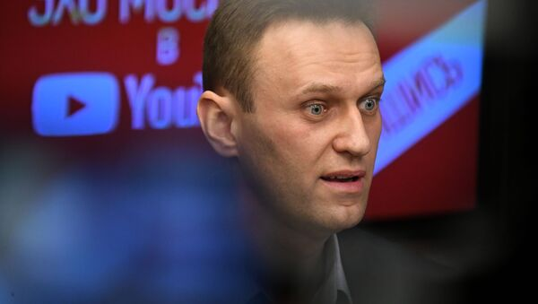 Alexej Navalnyj - Sputnik Česká republika