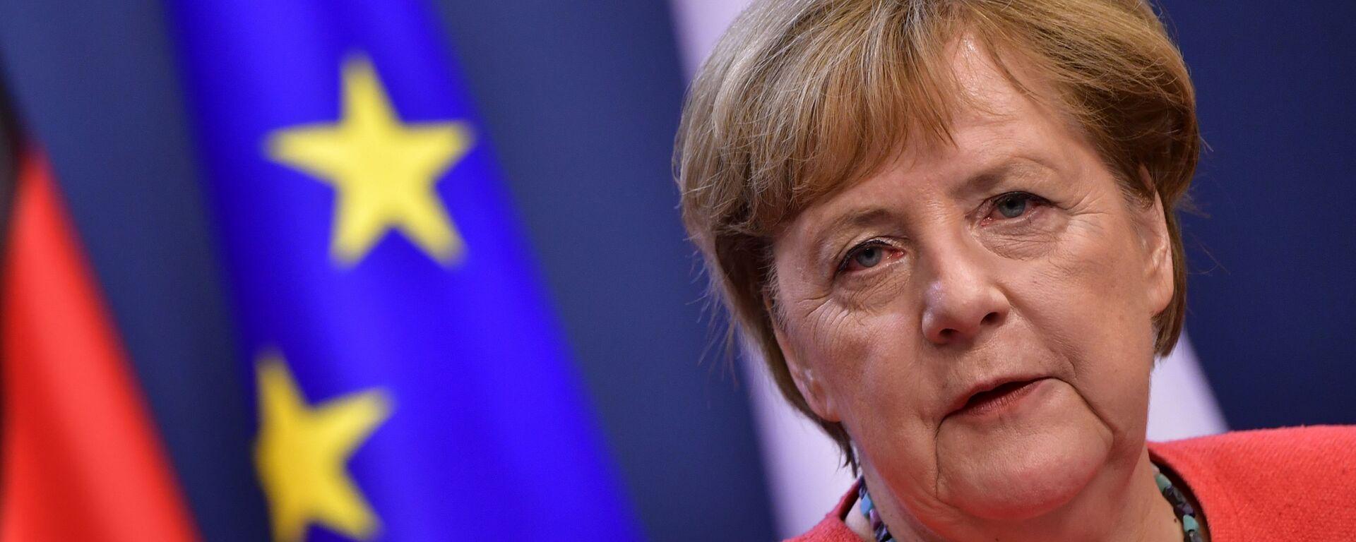 Německá kancléřka Angela Merkelová - Sputnik Česká republika, 1920, 12.06.2021