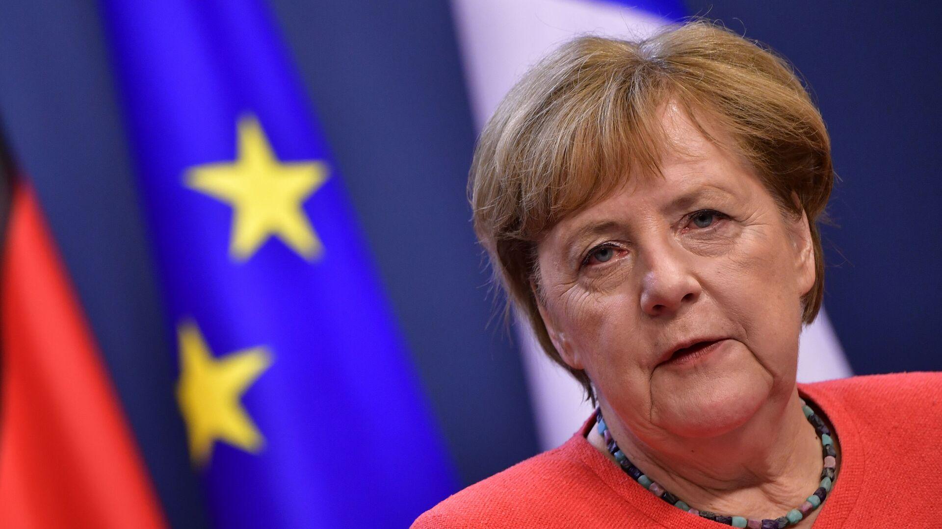 Německá kancléřka Angela Merkelová - Sputnik Česká republika, 1920, 06.02.2021