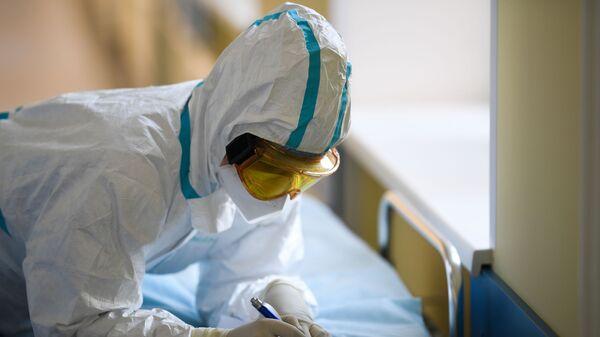 Lékař v moskevské nemocnici - Sputnik Česká republika