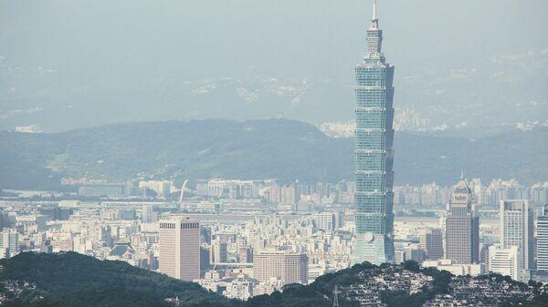 Вид на столицу Тайваня Тайбэй - Sputnik Česká republika