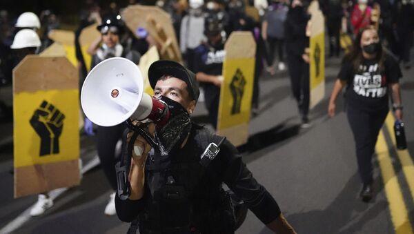Protesty v Portlandu - Sputnik Česká republika