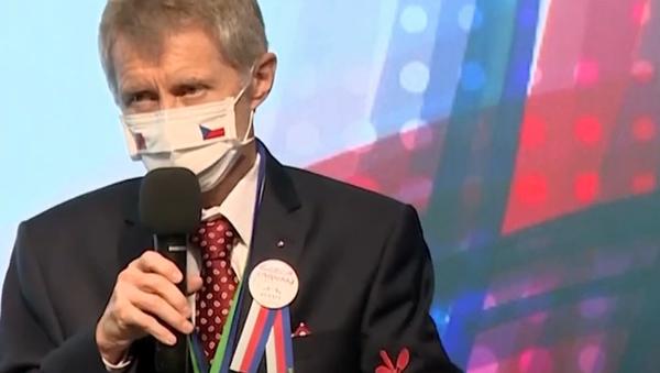 Vystoupení předsedy Senátu Vystrčila na podnikatelském fóru v Tchaj-peji - Sputnik Česká republika