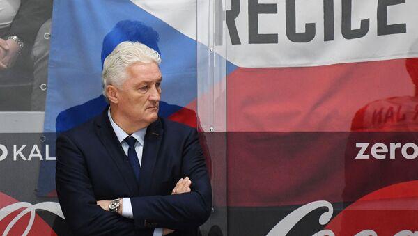 Miloš Říha na lavičce české hokejové reprezentace - Sputnik Česká republika