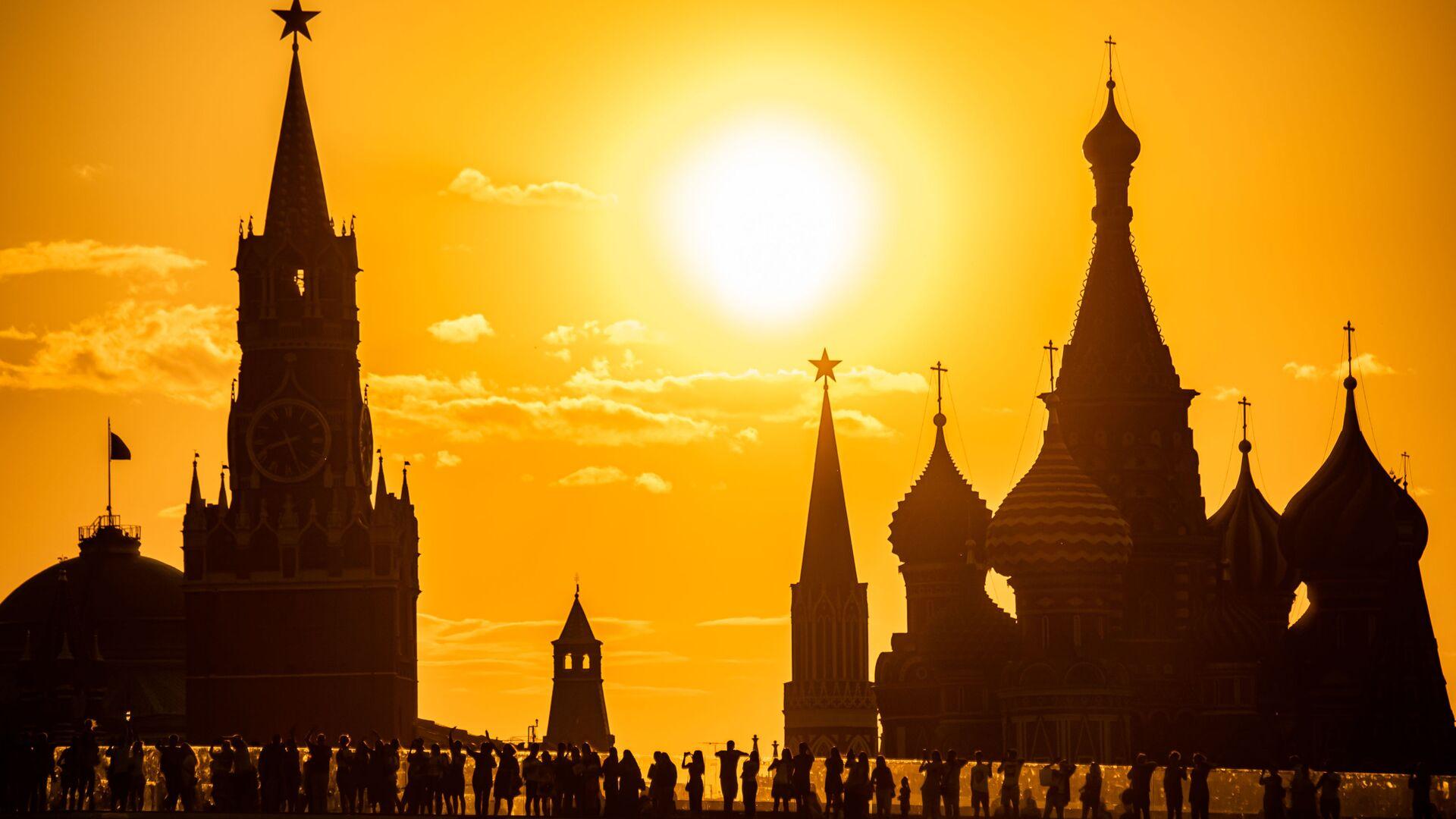 Výhled na Kreml v Moskvě. Ilustrační foto - Sputnik Česká republika, 1920, 29.07.2021