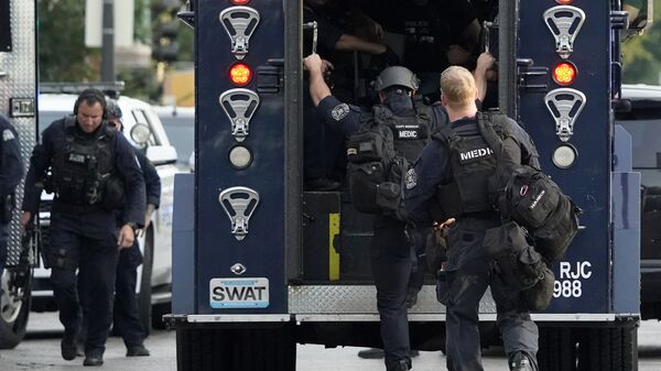Americká policie - Sputnik Česká republika